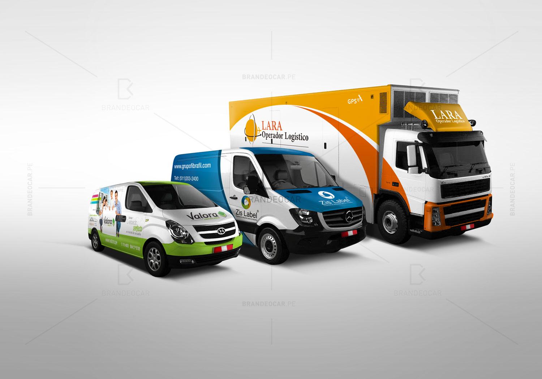 La Food Trucks >> Rotulacion - Brandeocar - Rotulación vehicular