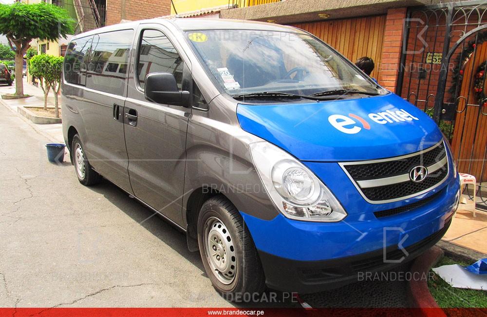 Entel peru - Brandeocar rotulacion vehicular