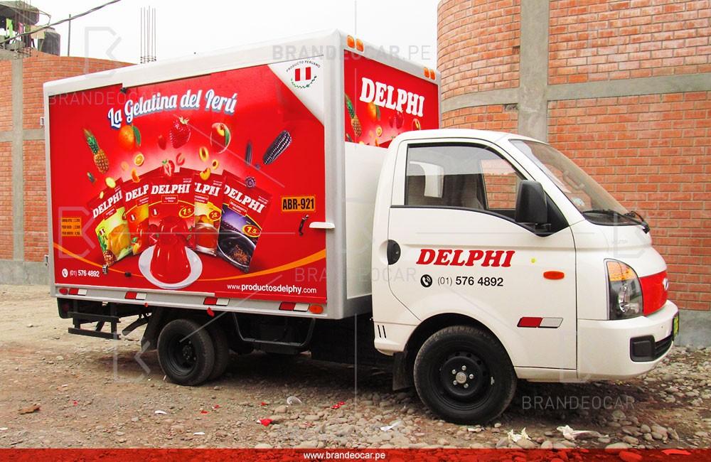 Lima Peru Food Truck