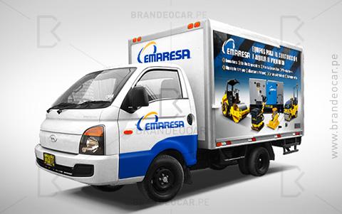 Emaresa - Brandeocar - Grafica vehicular furgon