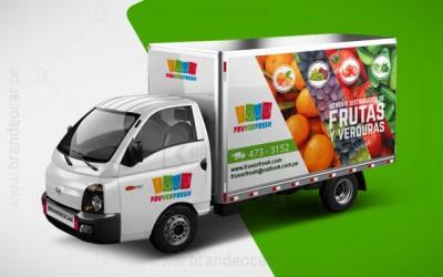 brandeocar_brandeo lima peru_rotulacion camion_publicidad Hyundai H-100_Fruver Fresh_0