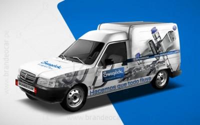 brandeocar_rotulado de minivan_ploteo lima peru_publicidad Fiat Fiorino_swagelok_0