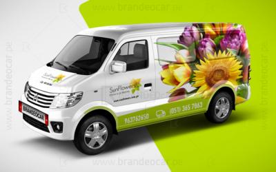 #brandeocar-#van-#Branding-#Brandeo-#Rotulacion-#Ploteo-#publicidad---SUN-FLOWERS-0