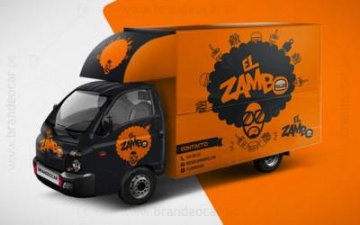 brandeocar_ploteo foodtruck_branding food truck_publicidad en camion_el zambo_0