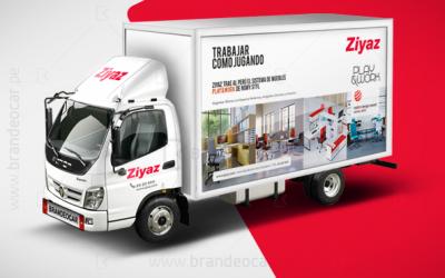 brandeocar #Ziyaz #ploteo #Rotulación #publicidadenvehiculos #camion